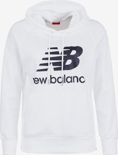 new balance Sweatshirt in schwarz / weiß, Produktansicht