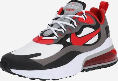 Sneaker low 'Air Max 270 React' Nike Sportswear pe gri / roșu / negru / alb, Vizualizare produs
