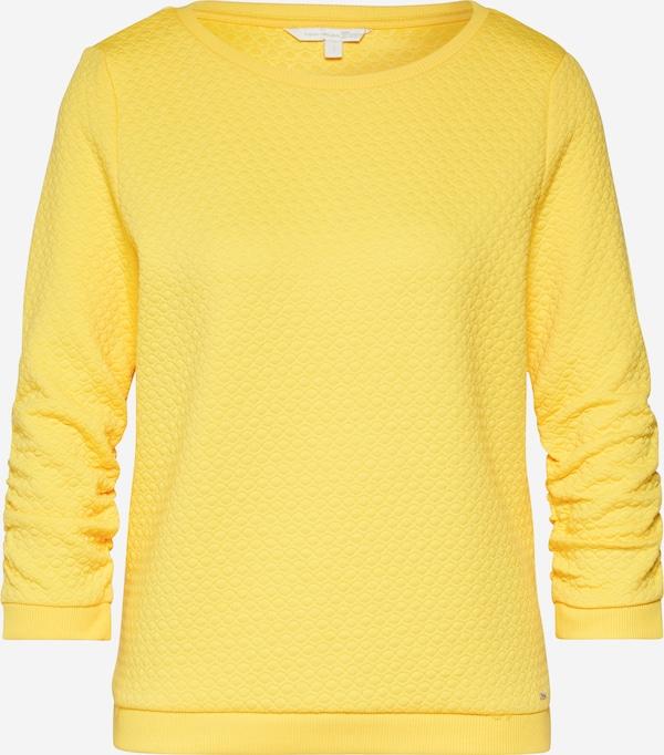 TOM TAILOR Tréning póló sárga | ABOUT YOU