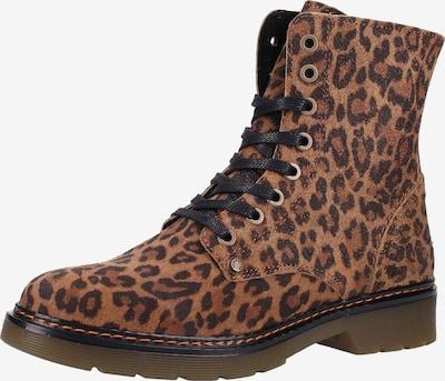 Suvarstomieji kulkšnis dengiantys batai iš BULLBOXER , spalva - ruda / juoda, Prekių apžvalga