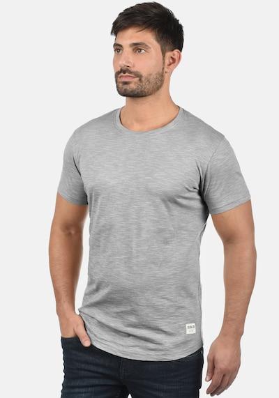 !Solid Rundhalsshirt 'Figos' in grau: Frontalansicht