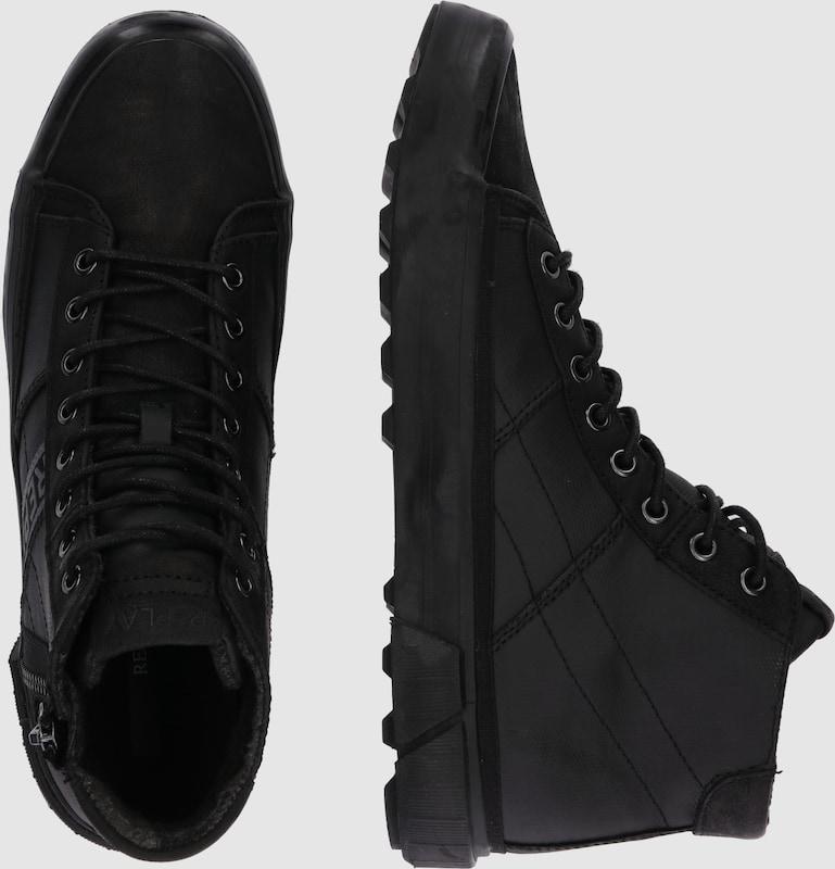 REPLAY Sneaker mit Schnürung und und Schnürung Reißverschlüssen dadde9
