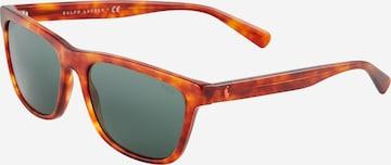 Polo Ralph Lauren Слънчеви очила в кафяво