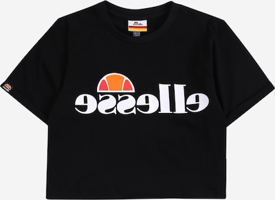 ELLESSE T-Shirt 'Nicky' in mischfarben / schwarz / weiß, Produktansicht