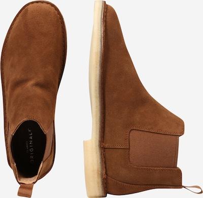 Chelsea batai 'Desert' iš Clarks Originals , spalva - tamsiai ruda: Vaizdas iš šono