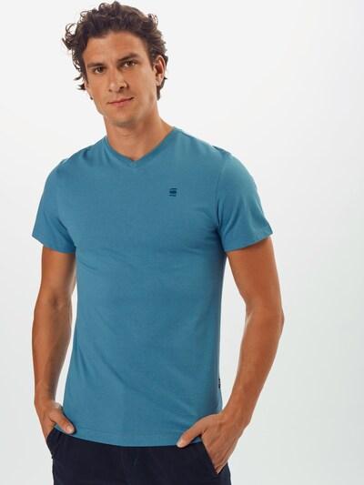 G-Star RAW T-Shirt en bleu: Vue de face