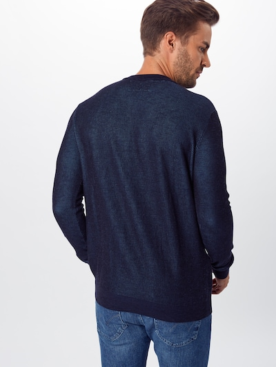 TOM TAILOR Pullover in navy: Rückansicht