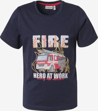 SALT AND PEPPER T-Shirt in nachtblau / mischfarben, Produktansicht