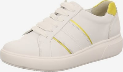 WALDLÄUFER Sneaker in gelb / weiß, Produktansicht