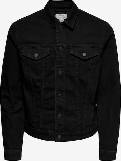 Only & Sons Jeansjacke in schwarz, Produktansicht