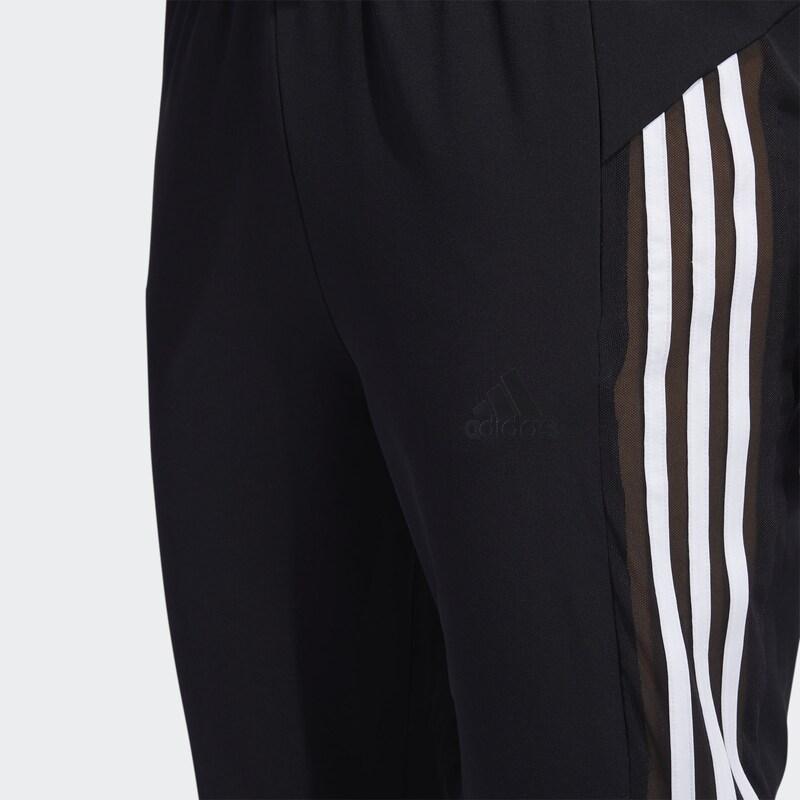 ADIDAS PERFORMANCE Sportnadrágok fekete fehér színben