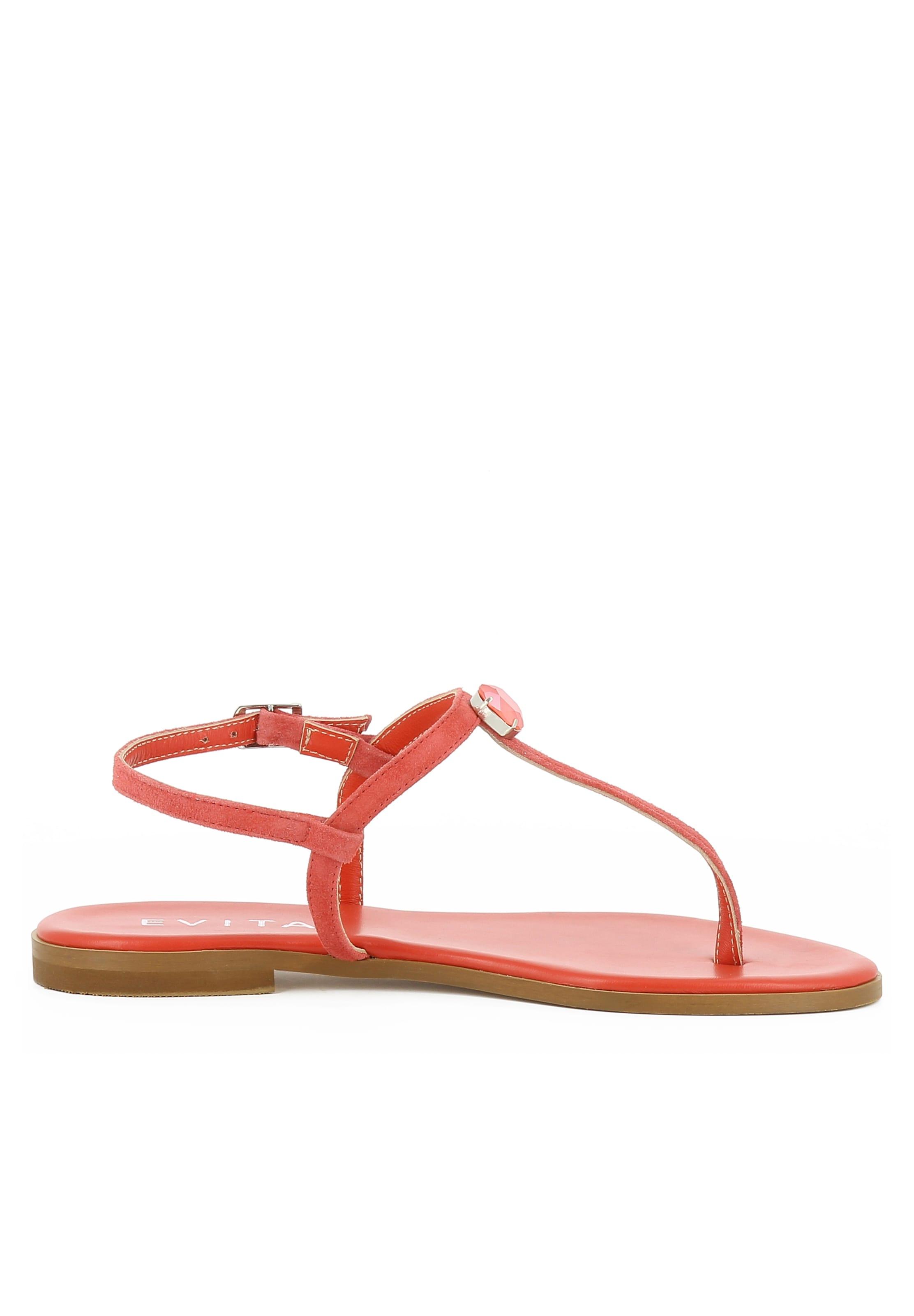 In Koralle Sandale Evita 'olimpia' n0wOPk