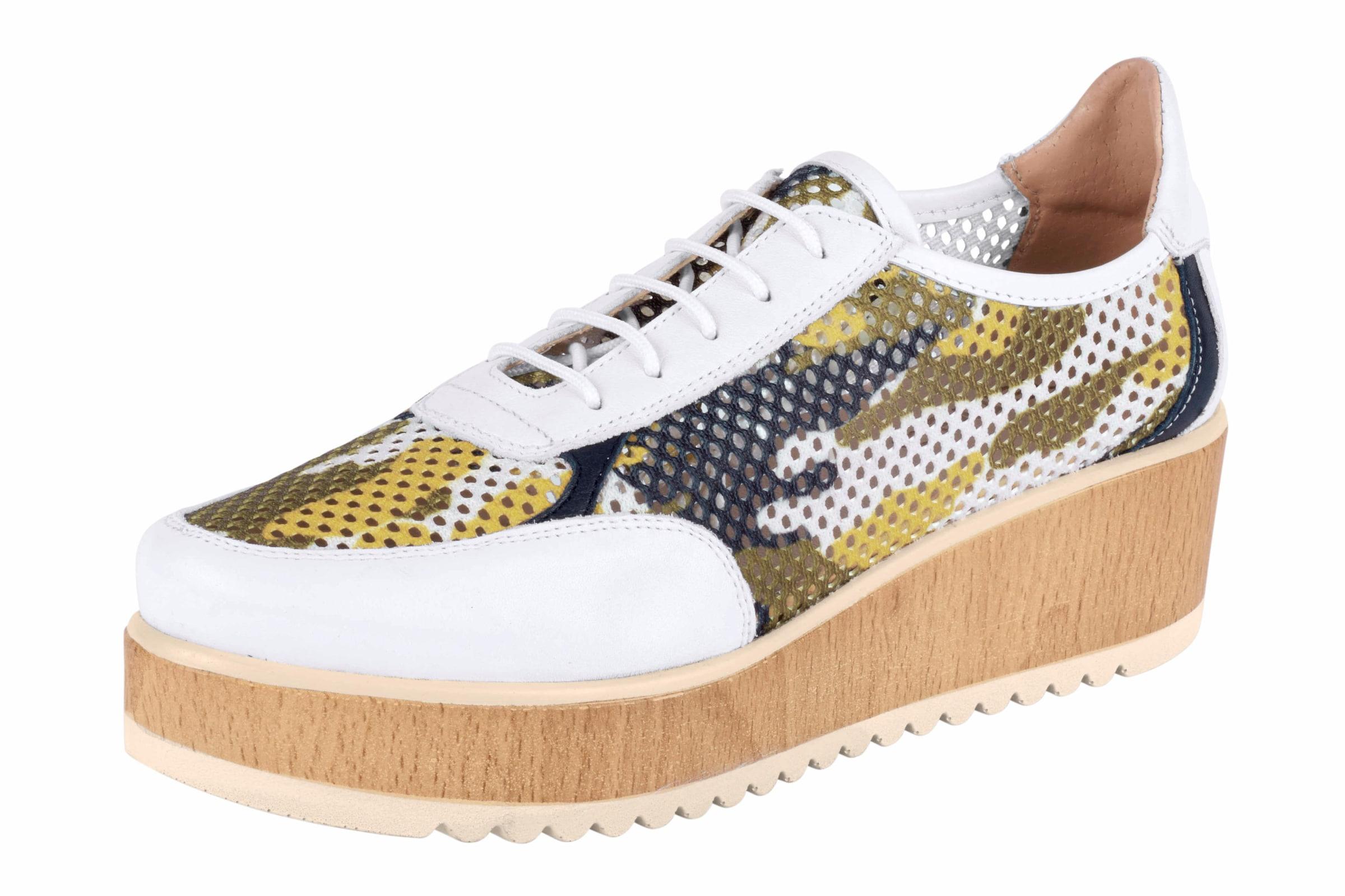 Haltbare Mode billige Schuhe heine | Schnürer mit Plateau-Sohle Schuhe Gut getragene Schuhe