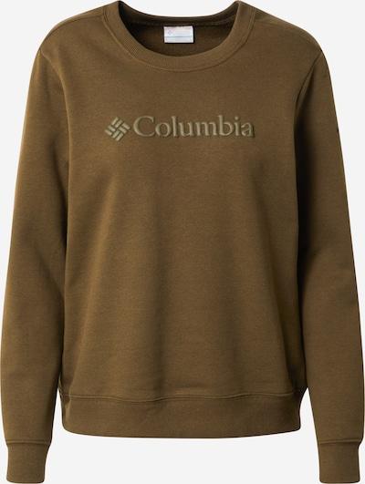COLUMBIA Sportief sweatshirt in de kleur Olijfgroen, Productweergave