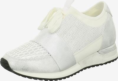 Edel Fashion Sneaker in silber / weiß, Produktansicht