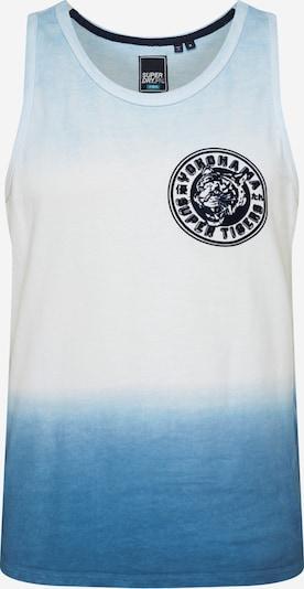 Marškinėliai 'DIP DYE' iš Superdry , spalva - mėlyna / balta, Prekių apžvalga