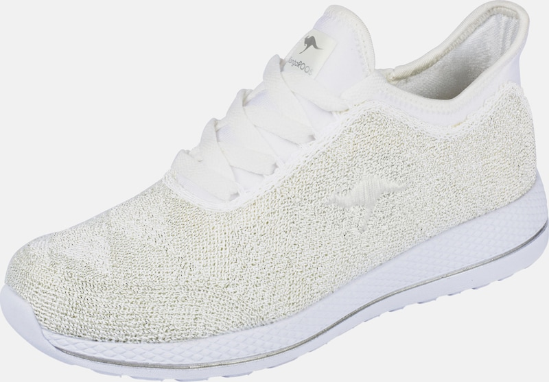 KangaROOS Sneaker mit Glanzeffekt
