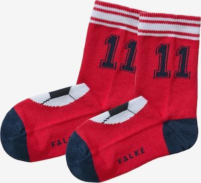 FALKE Socken in navy / rot / weiß, Produktansicht