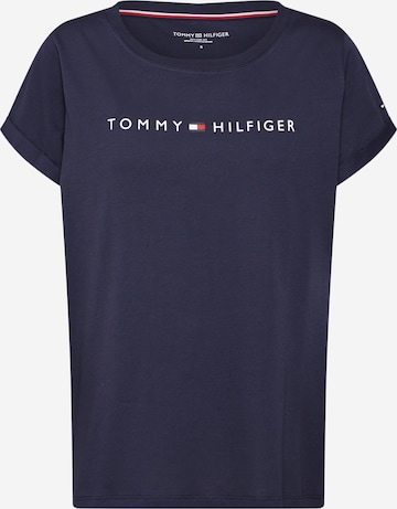 TOMMY HILFIGER Pajama Shirt in Blue