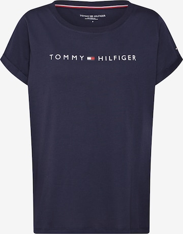TOMMY HILFIGER Nattskjorte i blå