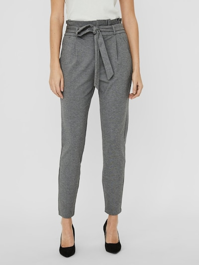 VERO MODA Pleat-front trousers 'VMEVA' in Grey, View model