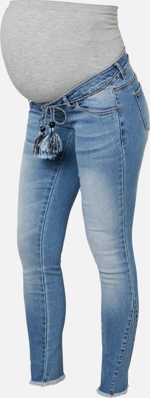 MAMALICIOUS Umstandsjeans in Blau denim    Mode neue Kleidung 5fe7ed