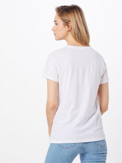 LEVI'S Koszulka 'THE PERFECT TEE' w kolorze białym: Widok od tyłu
