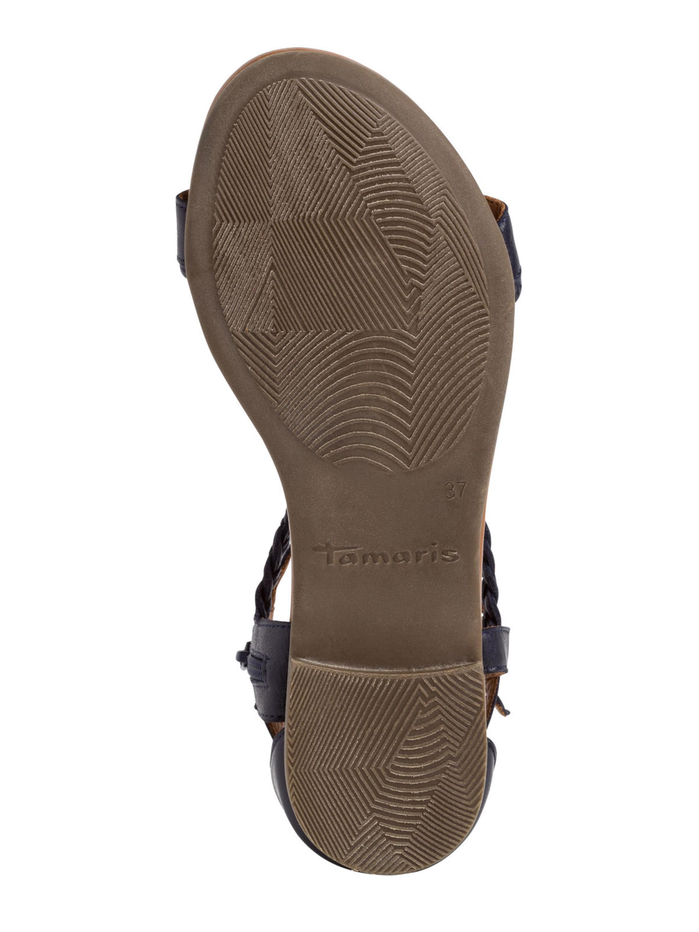 TAMARIS Sandale in nachtblau