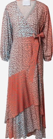 DELICATELOVE Šaty 'Vou Leo' - nebeská modř / světle červená, Produkt
