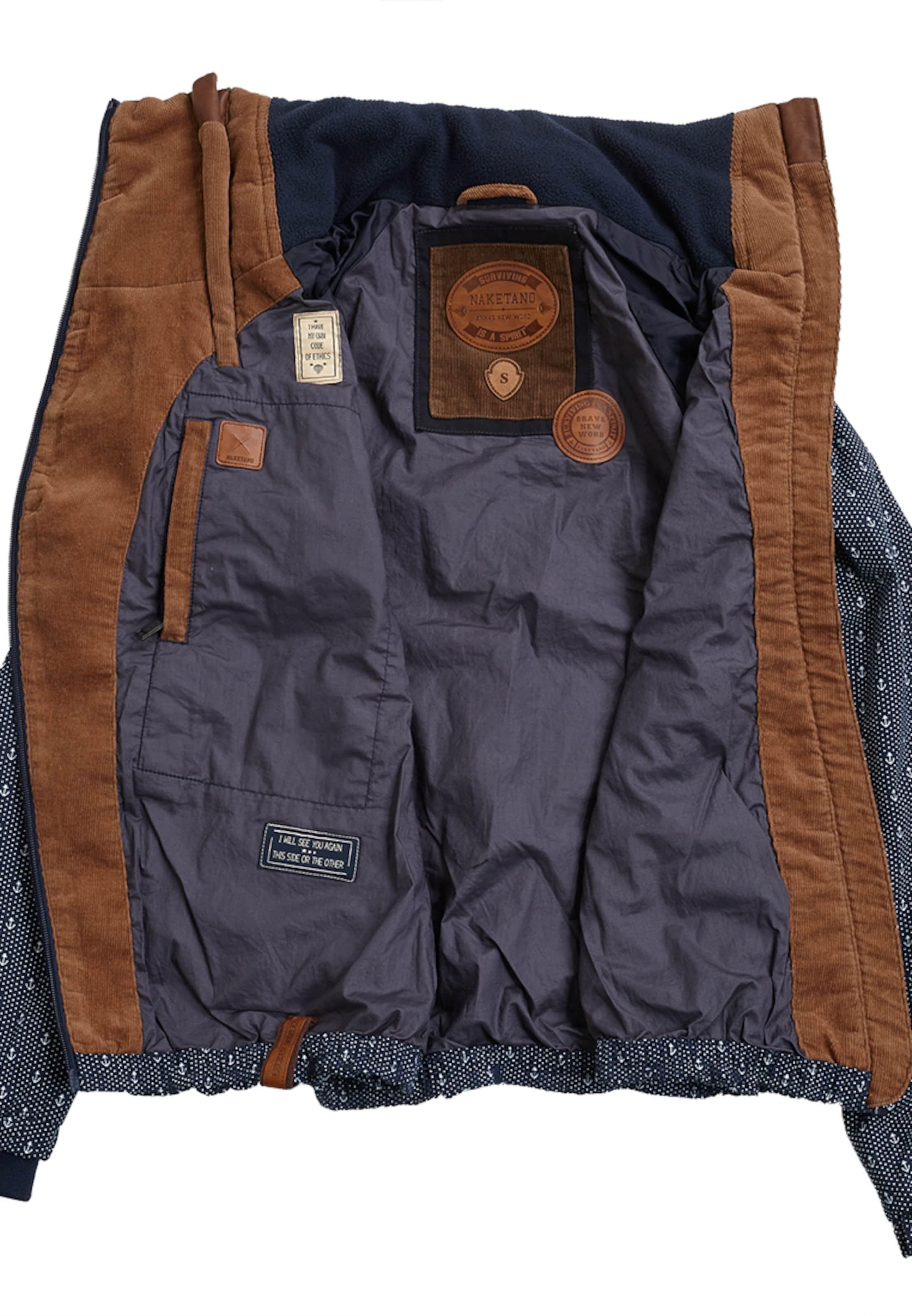 Empfehlen Rabatt Gefälschte Online naketano Jacke mit Anker-Motiven Spielraum Gut Verkaufen 2018 Auslaß BCjb1Y