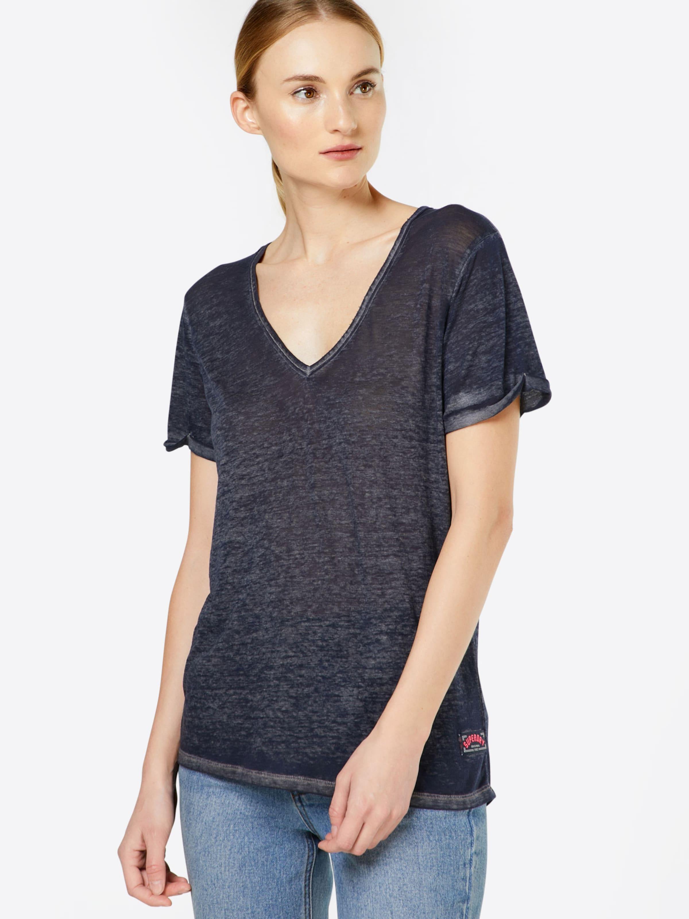 shirt Superdry In T 'burnout' Graumeliert HDeYbW2IE9