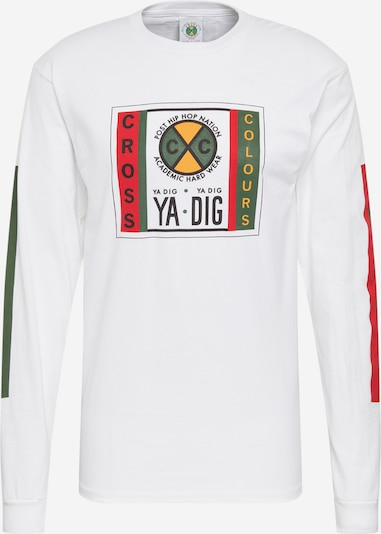 CROSS COLOURS Shirt 'Ya Dig Long' in weiß, Produktansicht