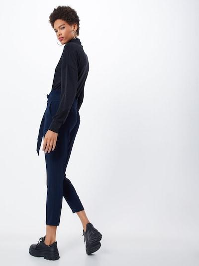 Klostuotos kelnės iš TOM TAILOR , spalva - mėlyna: Vaizdas iš galinės pusės