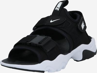 NIKE Sandale 'Canyon' in schwarz / weiß, Produktansicht