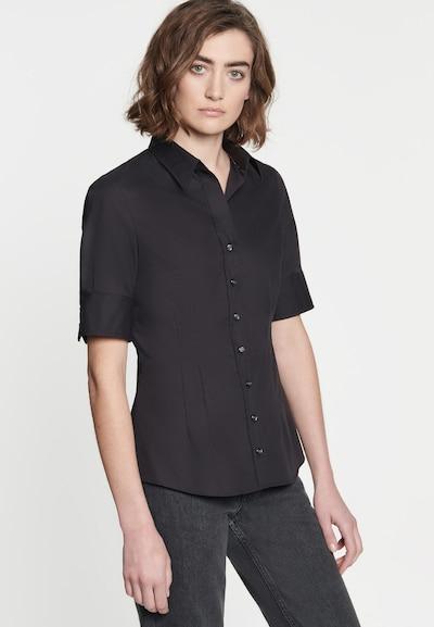 SEIDENSTICKER Bluse 'Schwarze Rose' in schwarz, Modelansicht