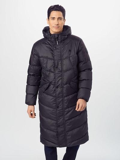 G-Star RAW Winterjas 'Whistler down long parka' in de kleur Zwart, Modelweergave