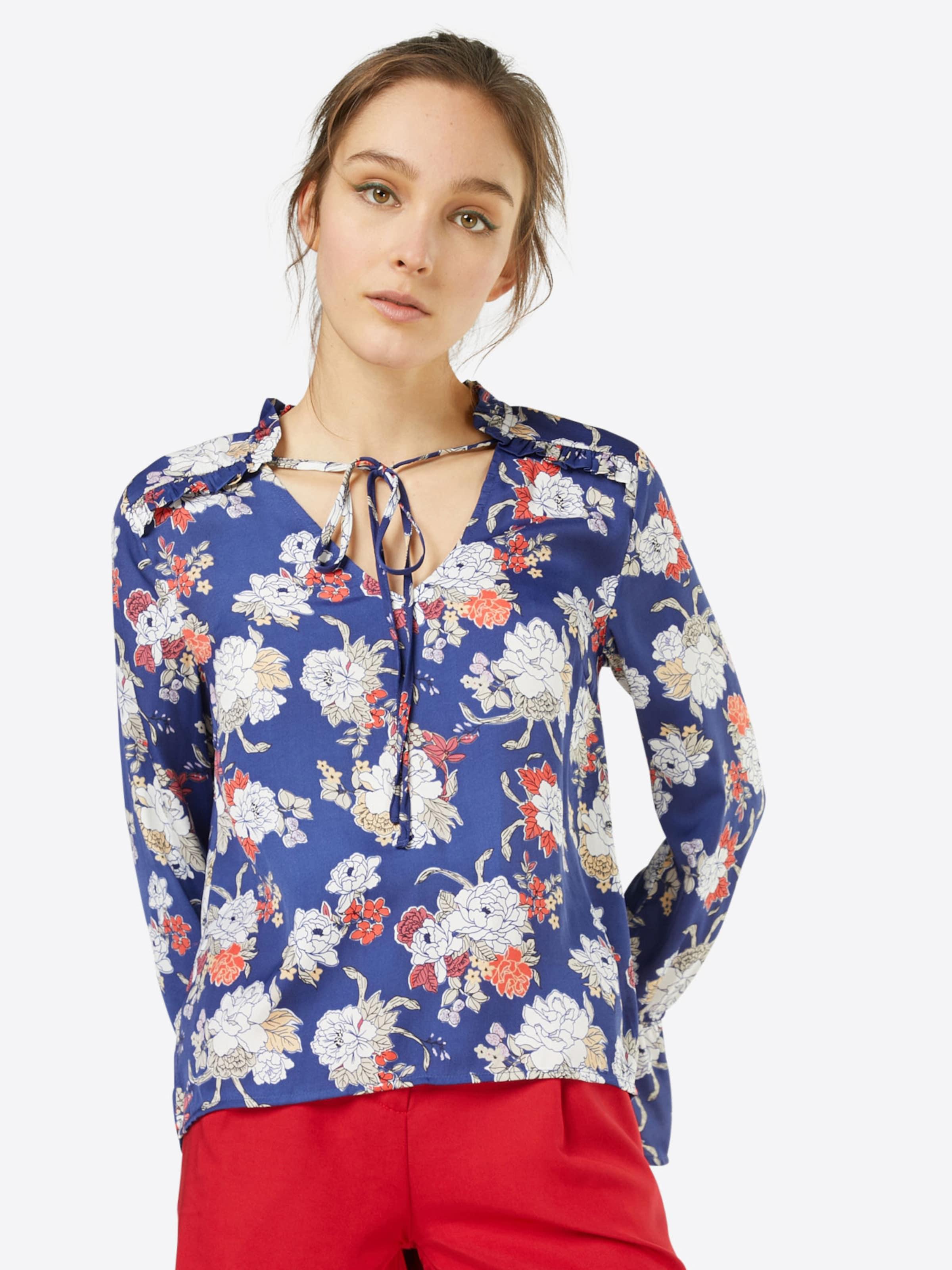VILA Florale Bluse Gefälschte Online Auslass Empfehlen Billig Wirklich rksSifpv