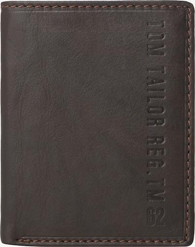 TOM TAILOR Portemonnaie in dunkelbraun, Produktansicht