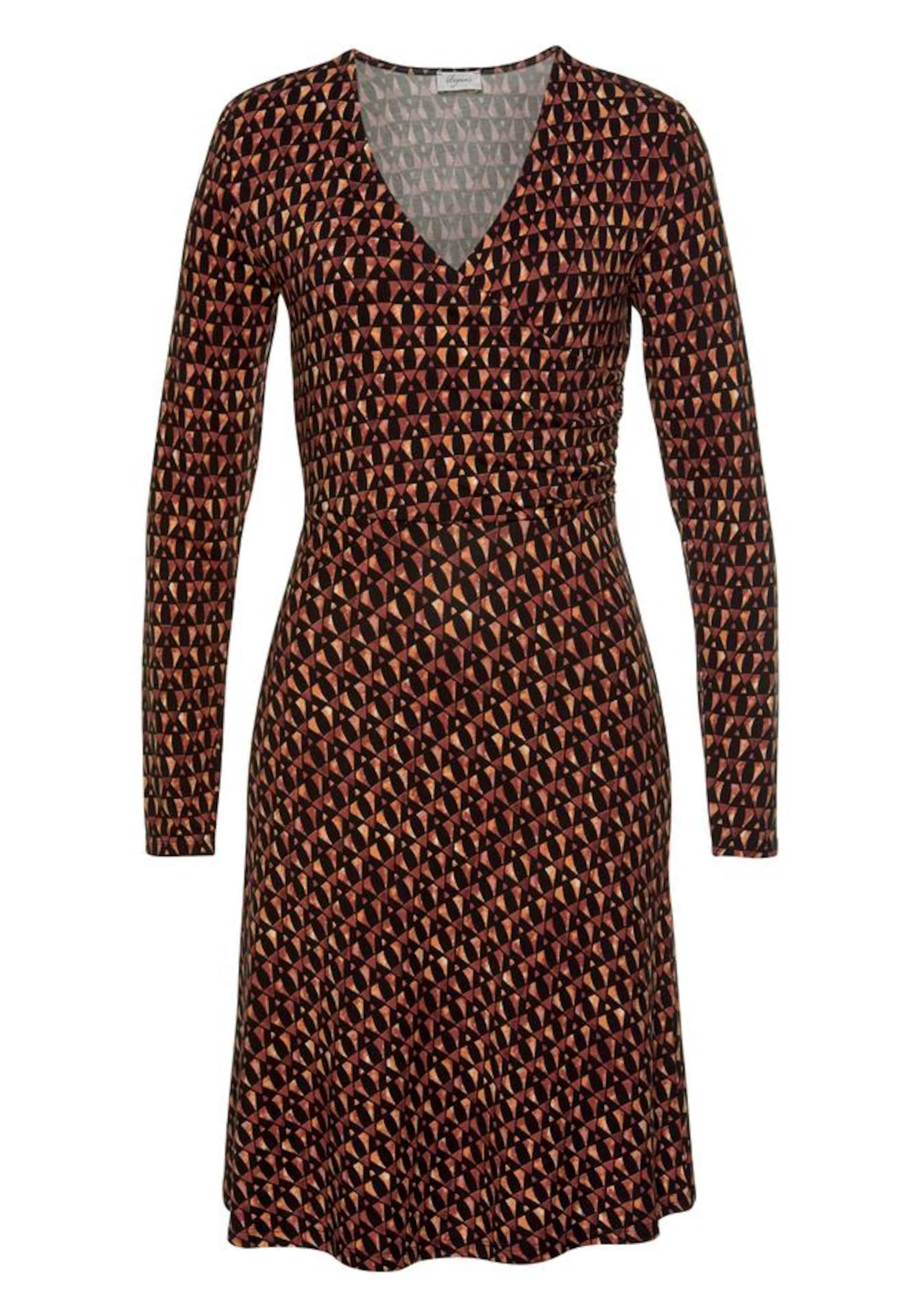 Kleid RostbraunGold In Boysen's Kleid In Boysen's Schwarz A3Rj4L5