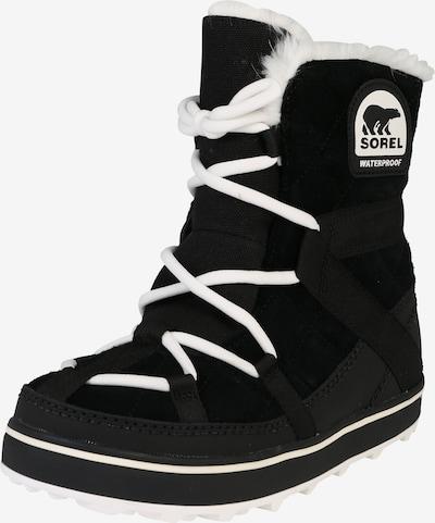 SOREL Čizme za snijeg 'Glacy Explorer' u crna, Pregled proizvoda