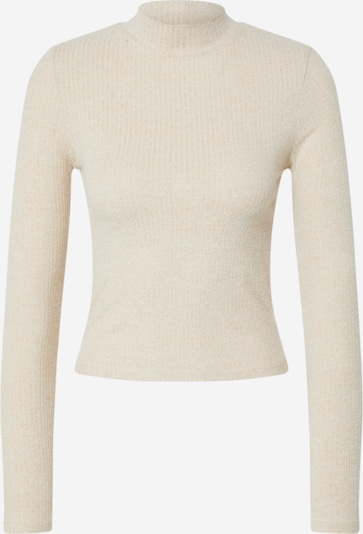 Miss Selfridge Pullover 'LS BRUSHED FUNNEL NK' in stone, Produktansicht