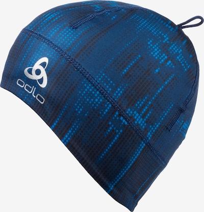 ODLO Langlaufmütze in blau / schwarz / weiß, Produktansicht