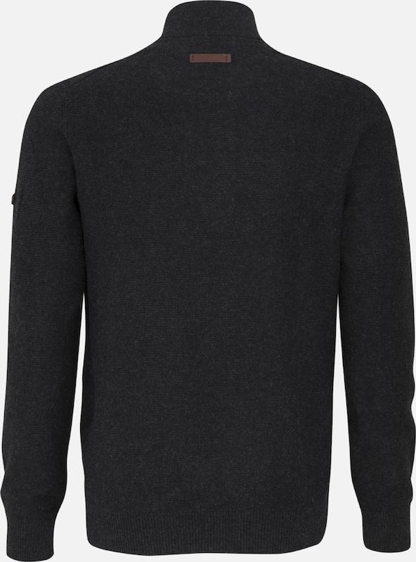 CAMEL ACTIVE ACTIVE ACTIVE Pullover in schwarzmeliert  Große Preissenkung 696a23