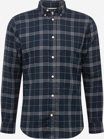 SELECTED HOMME Hemd in dunkelblau / grau, Produktansicht