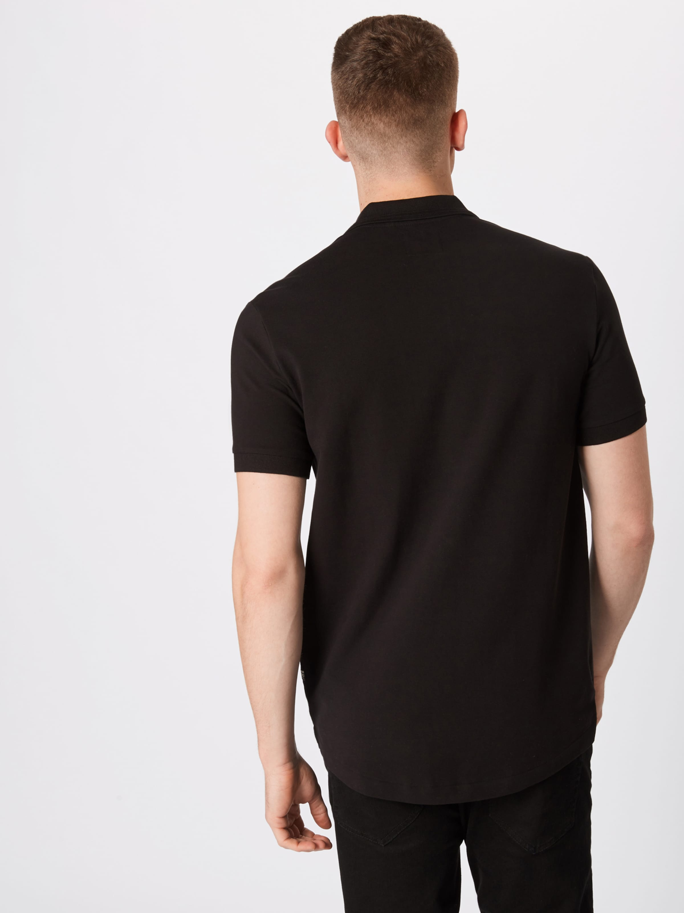Graphic G star Ss' In Polo Block Shirt Raw 'shelo Schwarz BtChdxrosQ