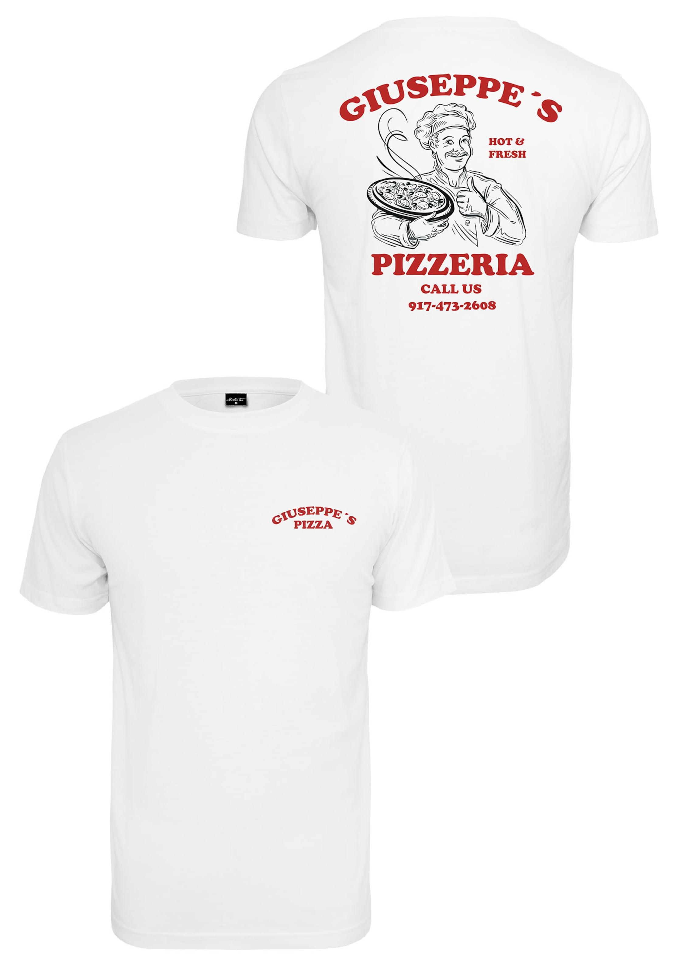 Pizzeria' In Weiß Tee RotSchwarz Mister 'giuseppe's PXwZuTOki