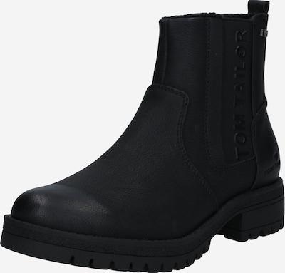 TOM TAILOR Enkellaarsjes in de kleur Zwart, Productweergave