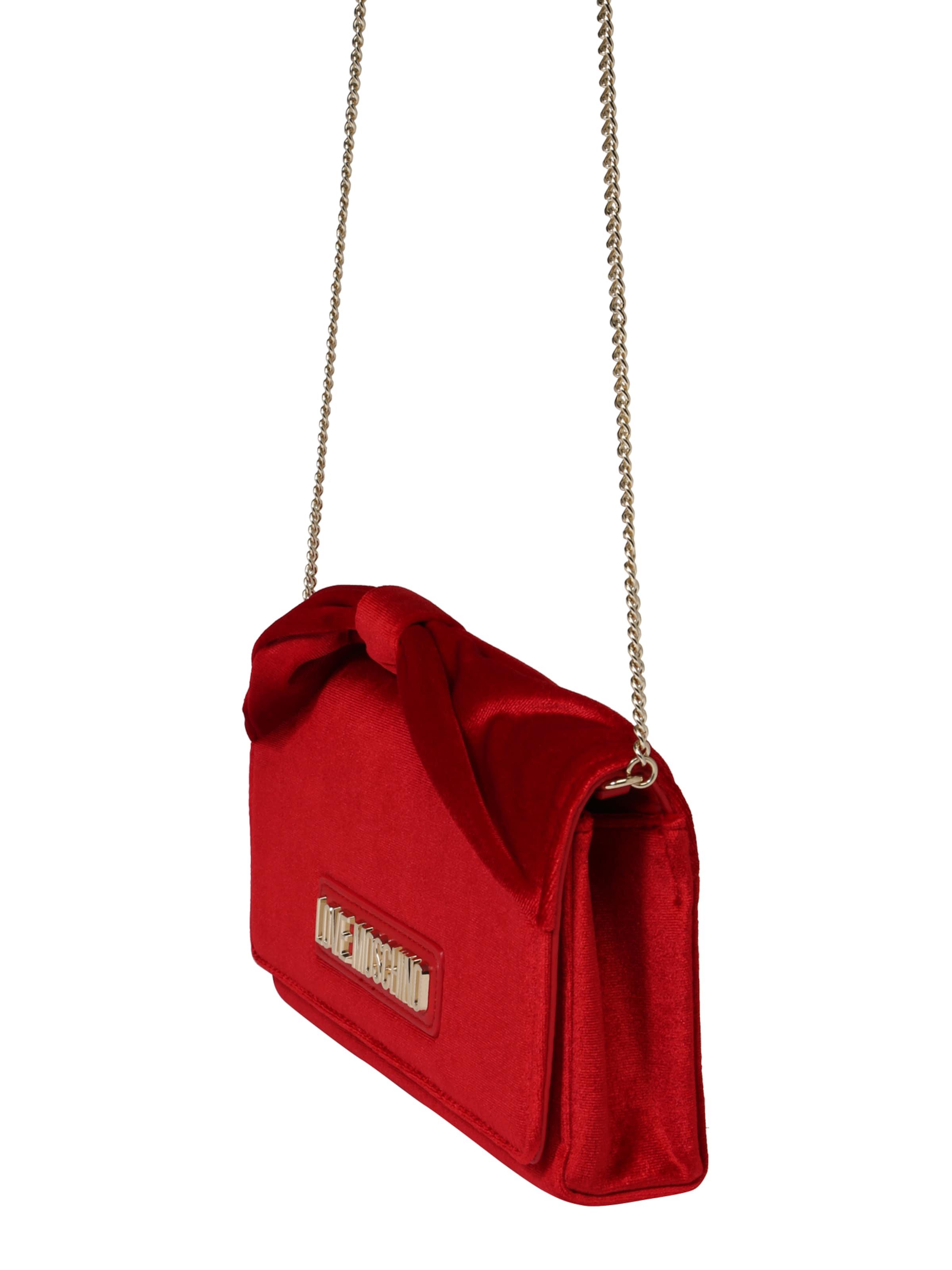 Rosso' 'borsa Tasche Love Moschino Rot Velvet In OkZPTXiwu