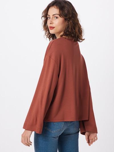 ABOUT YOU Majica 'Genia' | rjasto rjava barva: Pogled od zadnje strani