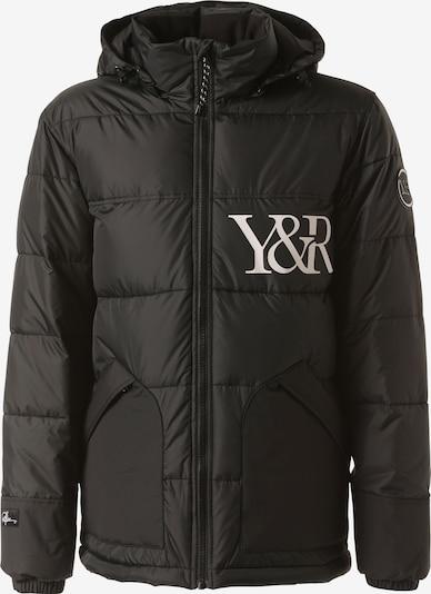 Young & Reckless Winterjas 'Puff' in de kleur Zwart, Productweergave